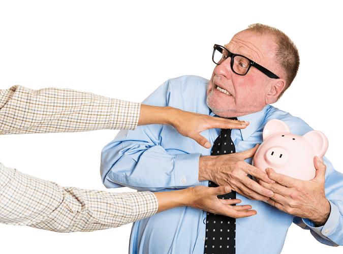 Rentner bangen um ihr Geld.