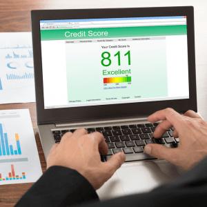 Gute Kreditbewertung